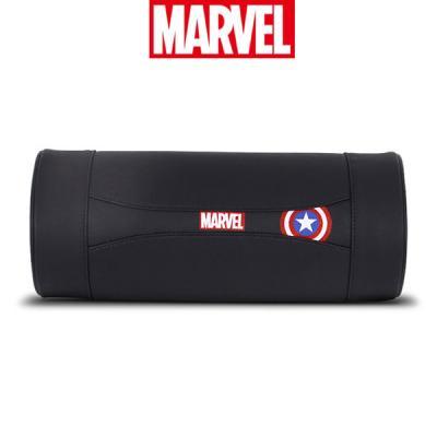 마블 히어로 메모리폼 원형 목쿠션-캡틴아메리카