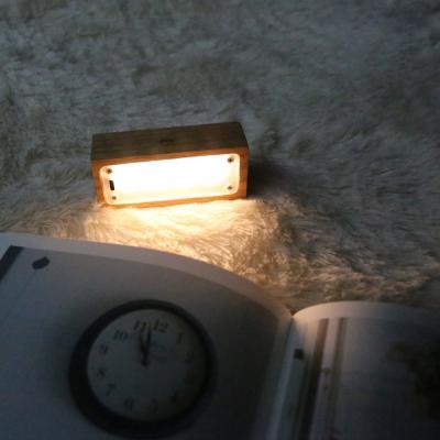 북라이트 LED스탠드 공부스탠드 직사각형 오크