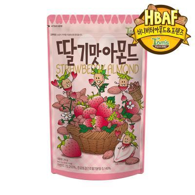 [길림양행] 딸기맛 아몬드 210g