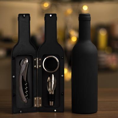 와인병 모양 와인 용품 오프너 세트 3p