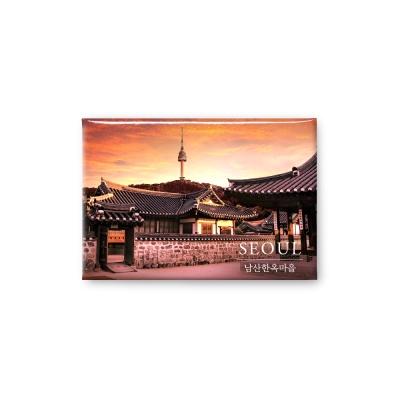한국 여행마그넷 기념품 남산한옥마을_인테리어자석
