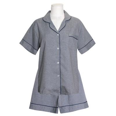 [쿠비카]솔리드 카치온사 반팔 투피스 여성잠옷 W719