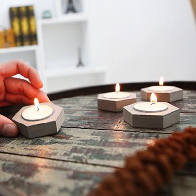 발크로멧 캔들트레이(s)4P-Valchromat Candle Tray(s)