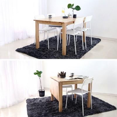 벤트리 원목 원목 슬라이딩 테이블 대