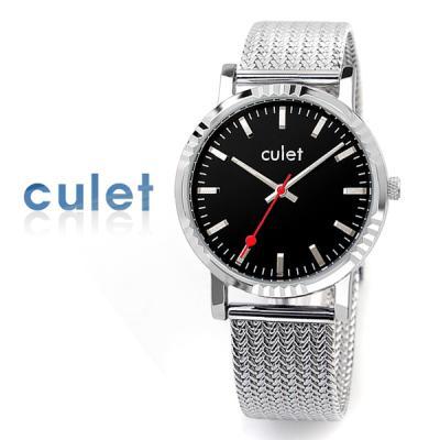 CULET 큐렛 메쉬 밴드 시계 cl10617-BK