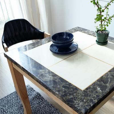 [리비니아]마니치_내츄럴 브레드 2인대리석 식탁세트