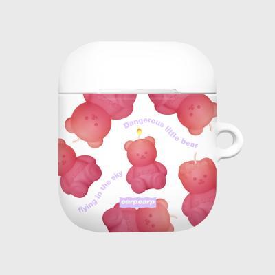 Little fire covy pattern-pink(에어팟 하드)
