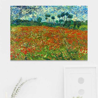 주문제작 액자 고흐 Poppy field 841x594x30mm