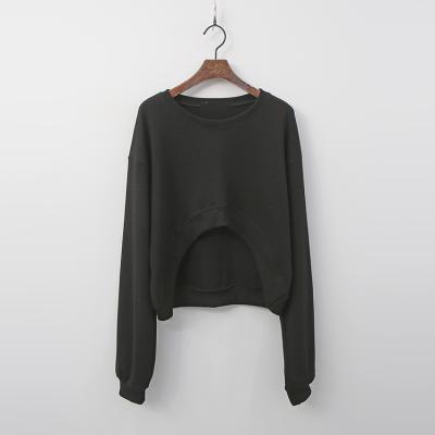 Unique Crop Sweatshirt