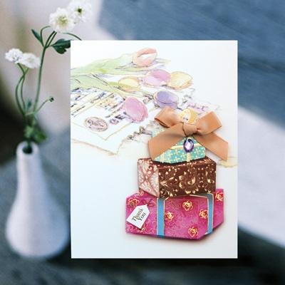 선물상자 카드 FT1039-4