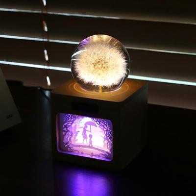 [터치더루나] LED 민들레 무드등