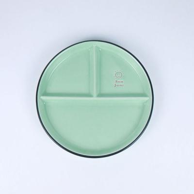 온나 스마일 원형 디저트 나눔접시 예쁜그릇