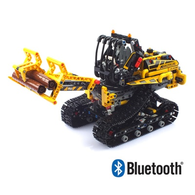 블럭 테크닉 블루투스 중장비 로그로더 블럭RC 260345
