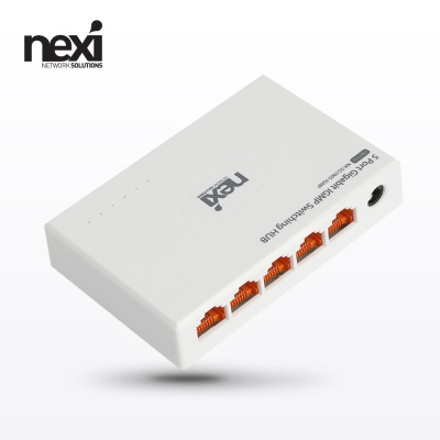 (NEXI) 넥시 5포트 기가비트 IGMP 스위칭허브 (NX1133