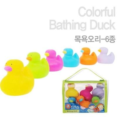 목욕 놀이 케이스키즈 목욕오리 6종