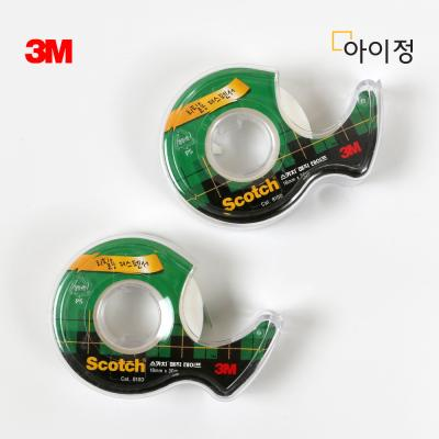 3M 스카치테이프 1+1 810D(18mm*30m) 매직테이프