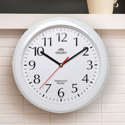 오리엔트 무소음 OT651 화이트 방수 인테리어벽시계