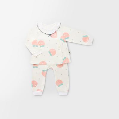 [메르베] 피치피치 신생아 아기내복/내의_사계절용