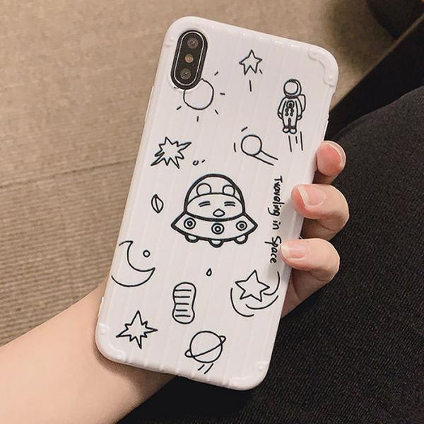 캐리어 우주선케이스(아이폰7플러스/8플러스)