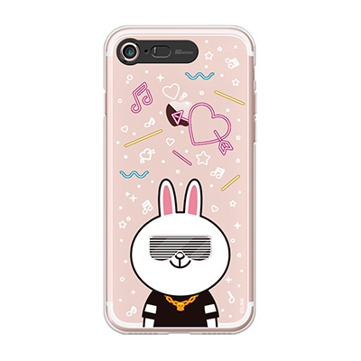 iPhone7 8 LINE FRIENDS CONY CLUB Light UP Case