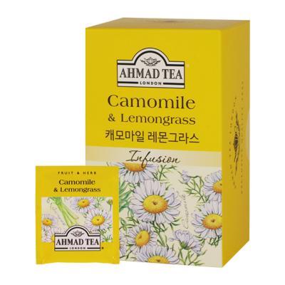D4 아마드티 캐모마일 레몬그라스 허브차 20티백