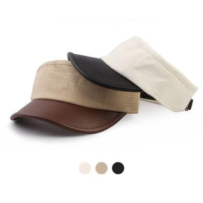 [디꾸보]바이저 배색 썬캡 모자 DCH-HN526