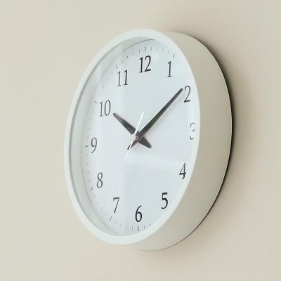 오리엔트 OTM897 화이트 무소음 2IN1 벽탁상겸용 시계