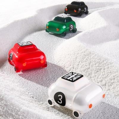 철가루스티커/에어팟1 2 특이한 자동차 실리콘 케이스