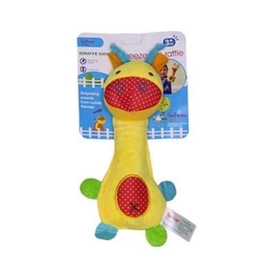 펫투유 우쭈쭈 삑삑이 봉제 인형 장난감 1개 기린