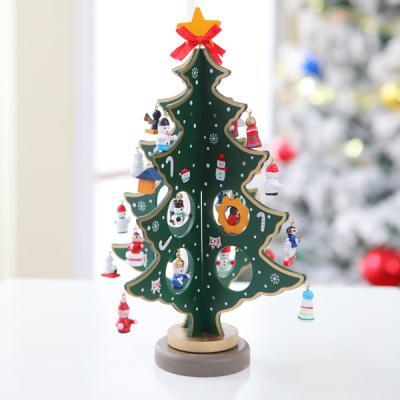 크리스마스 5단 엔젤 입체 목각트리