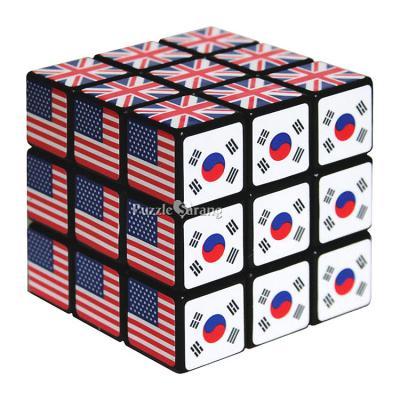 3x3 노벨 큐브 (국기) - 신광사