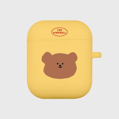slow bear 에어팟 케이스 [yellow]