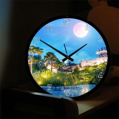 nf714-LED시계액자35R_달과풍경