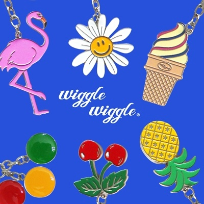 Wiggle Wiggle Keyring (위글위글 키링)