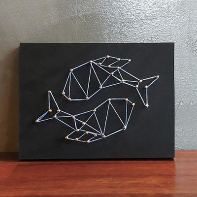 별자리 스트링아트(물고기자리)