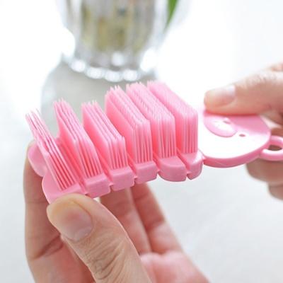 곰돌이 손톱솔 핸드브러쉬 세척솔 2color 손닦기 솔