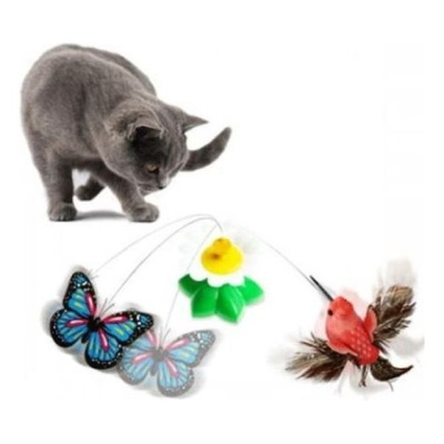 춤추는 나비와 벌새(랜덤발송)켓토이 고양이장난감