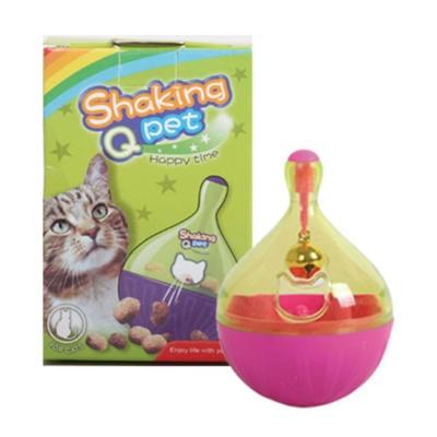 쉐킹 아이큐 스낵볼 핑크 고양이훈련장난감 호기