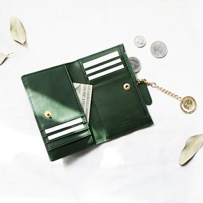 D.LAB Coin Card wallet  - Green