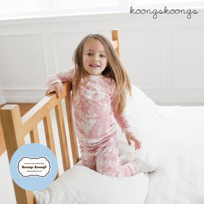 [긴팔실내복]스노우핑크실내복 유아실내복 아동실내복