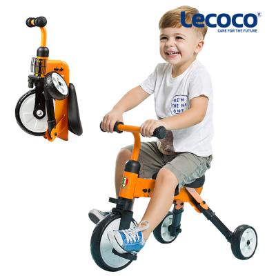 Lecoco TINY 접이식 세발자전거 유아 트라이크