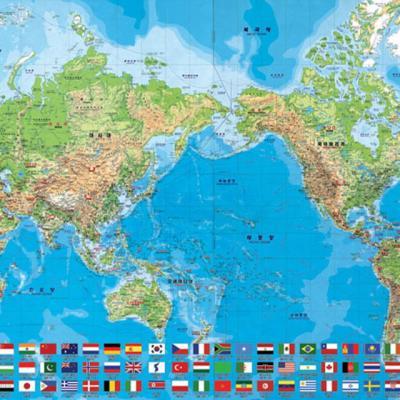 세계지도 [1000피스/직소퍼즐/교육/BN810-12]