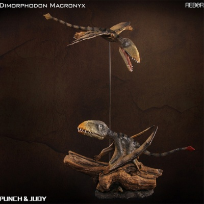 [REBOR] 리보 디모르포돈 한쌍 펀치 주디 공룡피규어