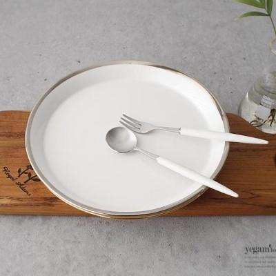 [2HOT] 골드라인 원형접시 소