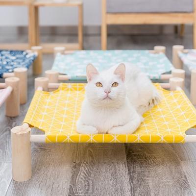 [봉봉펫닷컴] 고양이 사각 원목 해먹
