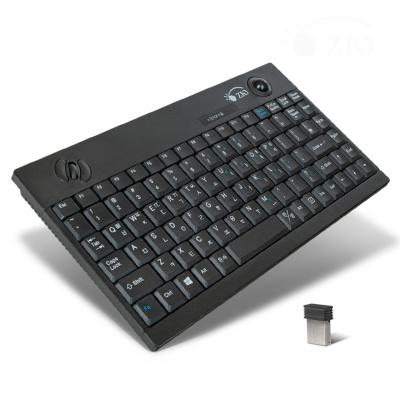 트랙볼 무선 맴브레인 키보드 LCRMK380mini