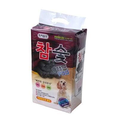 (국산) 항균제습 참숯 패드 50매 - pt