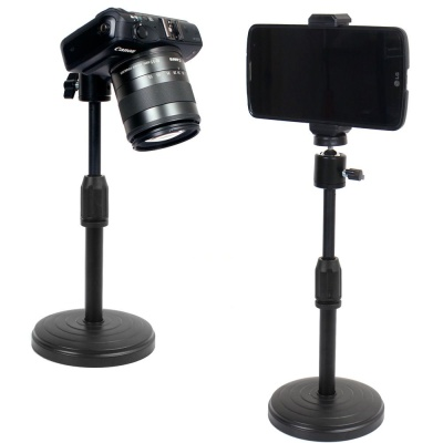 스탠드형 책상삼각대 미니삼각대 카메라핸드폰 삼각대