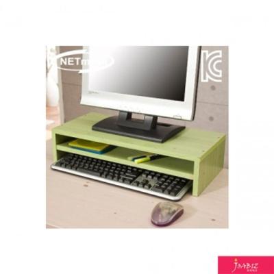 NMK-OMS06 2단 모니터 받침대 그린 책상소품