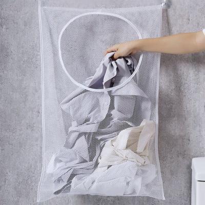 벽걸이 빨래 바구니 틈새수납장 빨래통 세탁바구니